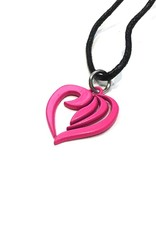 Necklace heart - pink