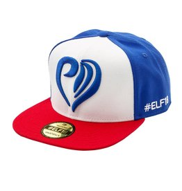 Snapback heart red, white, blue