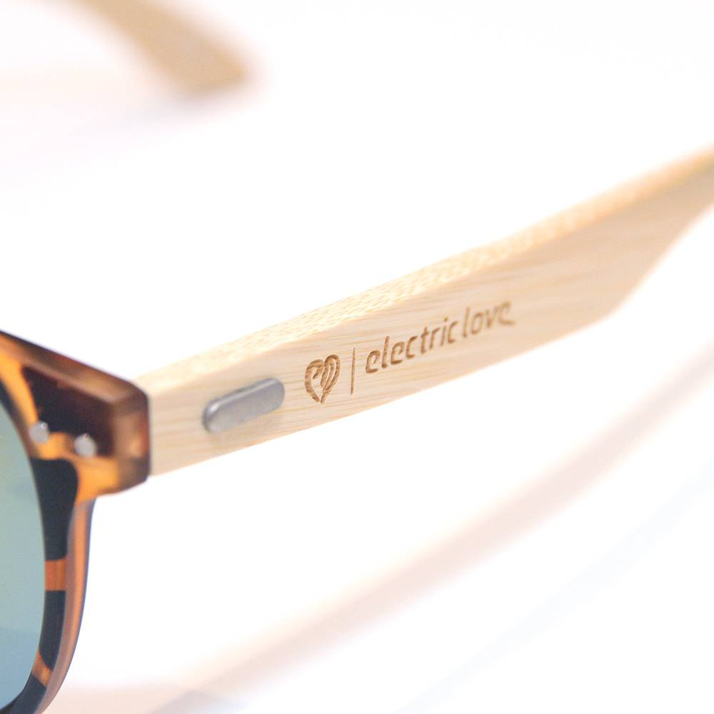 Glasses - wood tiger