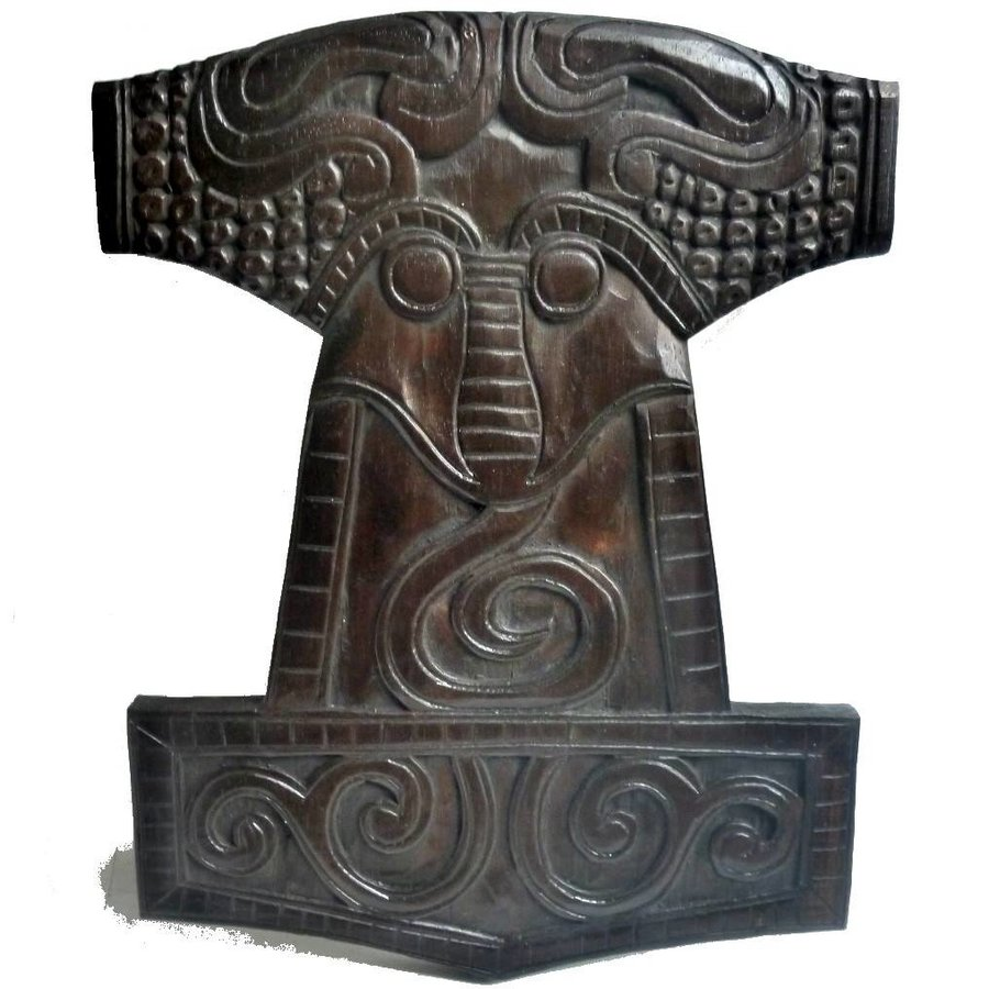 Wandrelief Thors Hammer-1