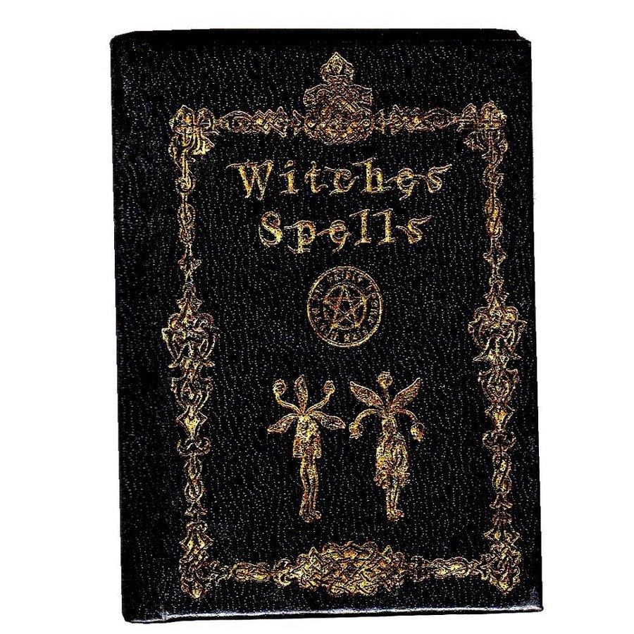 Kleines Buch für Zaubersprüche Witches Spells-1