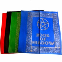 thumb-Buch der Schatten - Ordnereinband mit Pentagramm-1