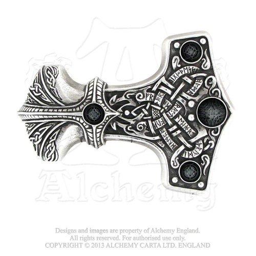 Gürtelschnalle Thors Hammer