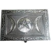 thumb-Metalldose mit Pentagramm und Dreifachmond-3