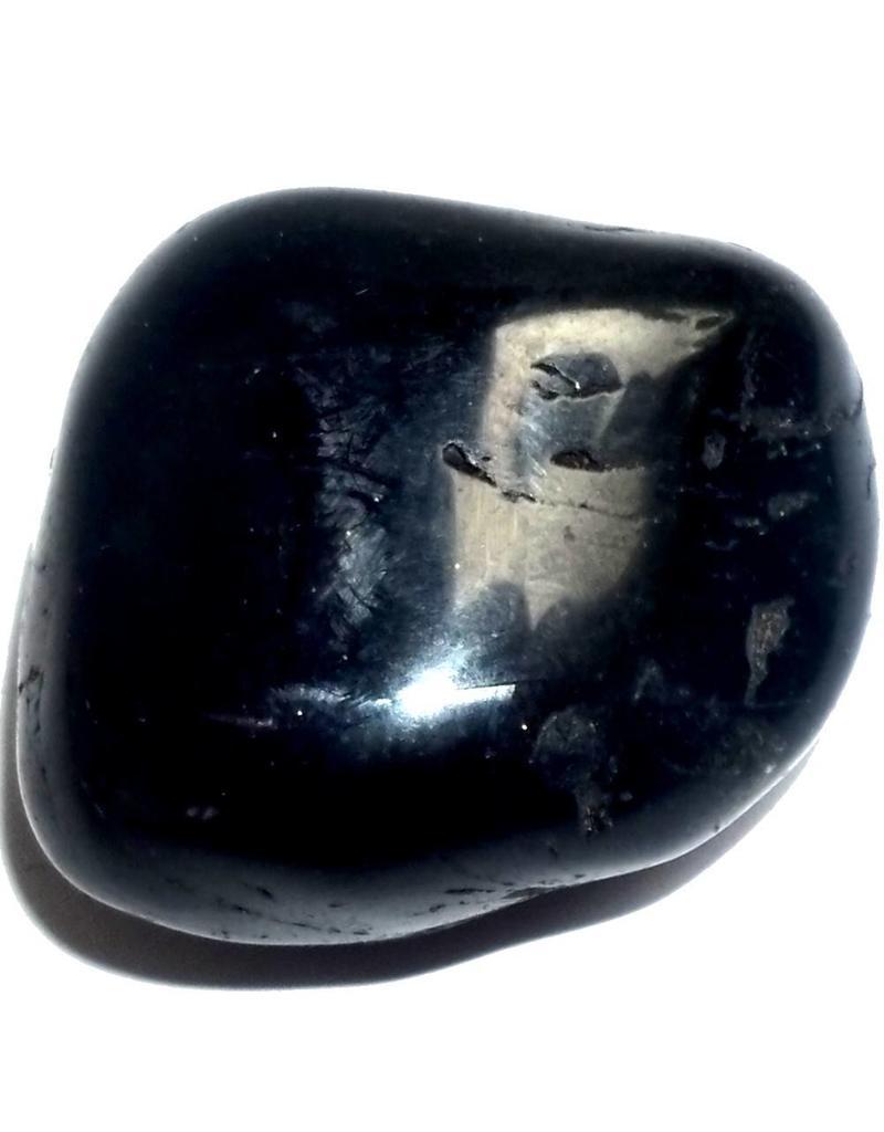 Typischer, schwarzer Onyx