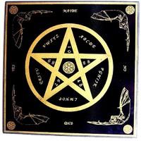 thumb-Witchboard klein mit Pentagramm-1