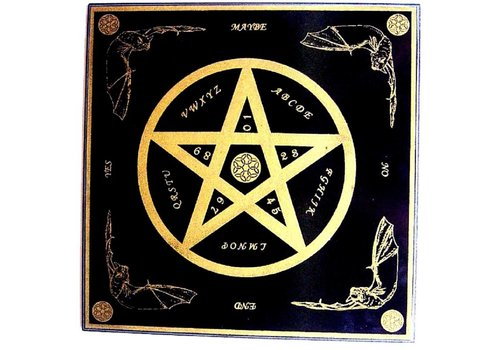 Witchboard mit Pentagramm