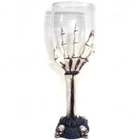 thumb-Glaskelch mit Knochenhand-2
