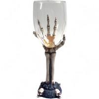 thumb-Glaskelch mit Knochenhand-3