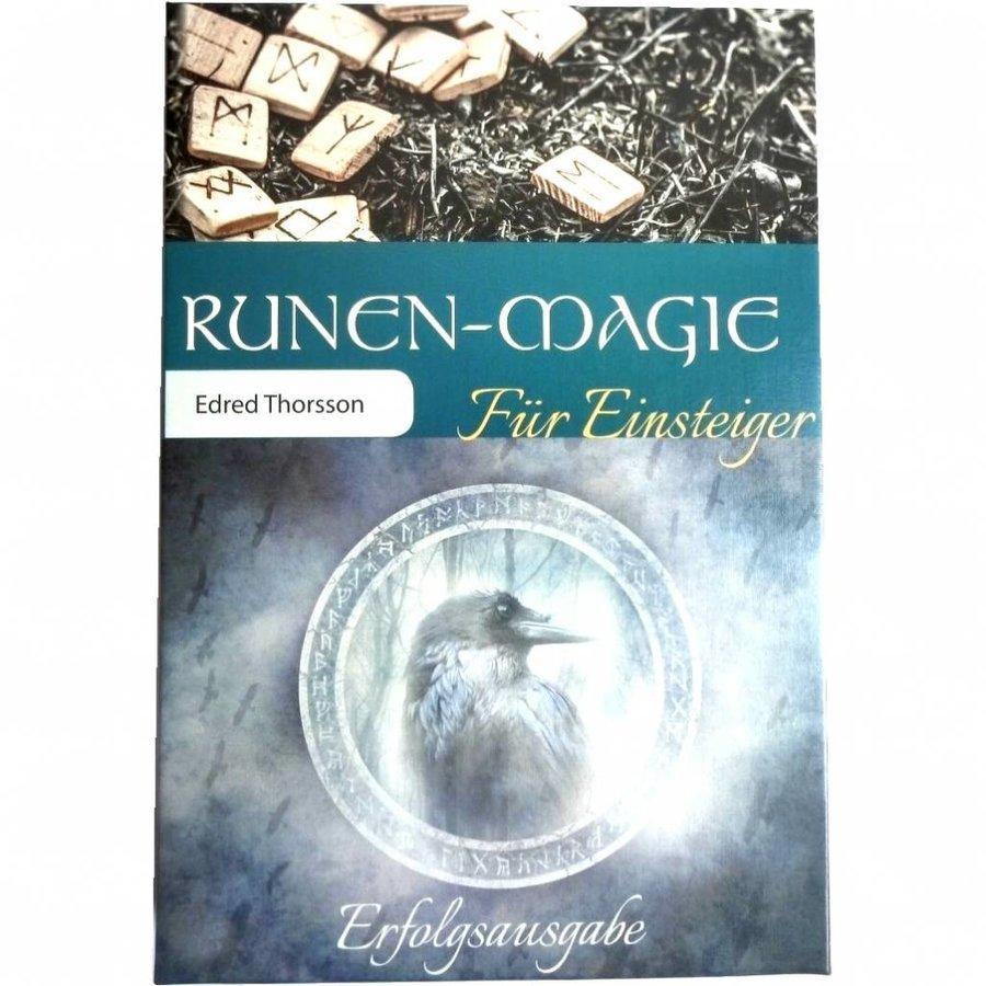 """Set: Buch """"Runenmagie für Einsteiger"""" und 24 Buchenholz-Runen-2"""