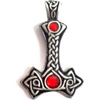 thumb-Anhänger Thors Hammer ohne Kette aus Hartzinn-4