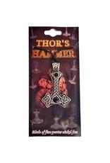 Anhänger Thors Hammer ohne Kette aus Hartzinn