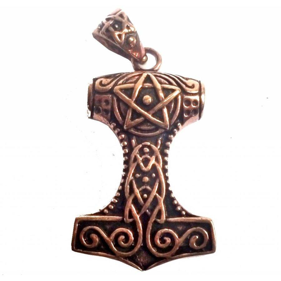 Thors Hammer mit Pentagramm-2