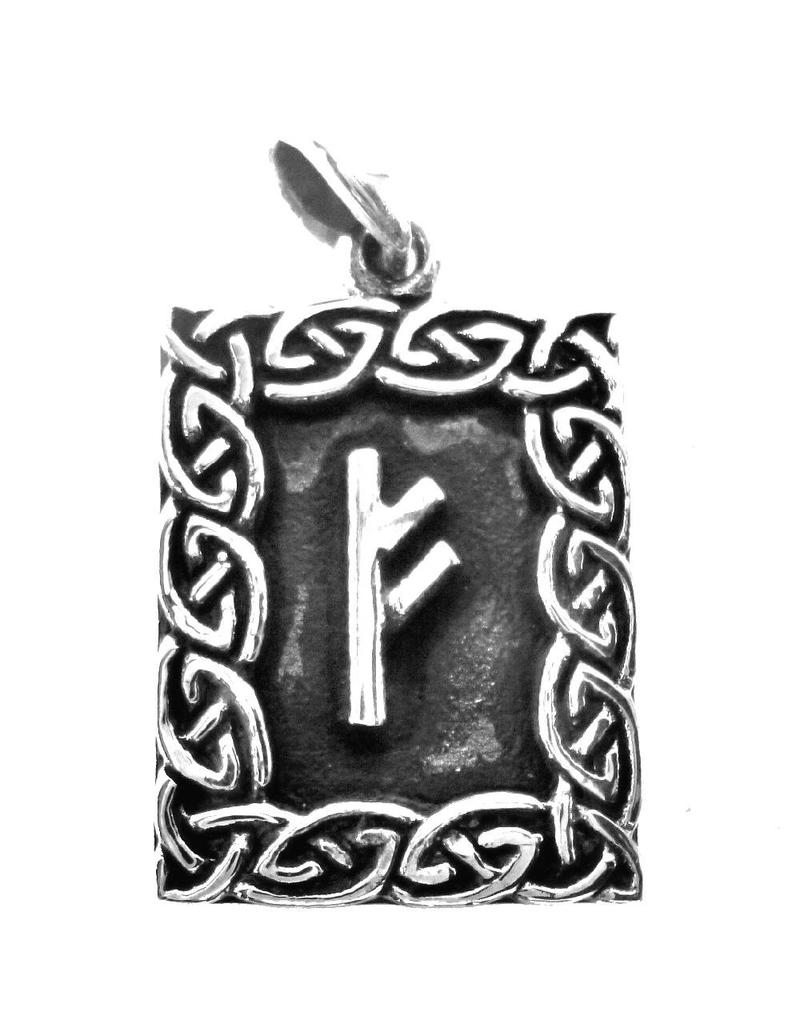 Runen Amulett Rune, Fehu Anhänger