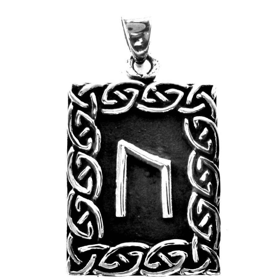 Amulett Rune, Uruz Anhänger-2