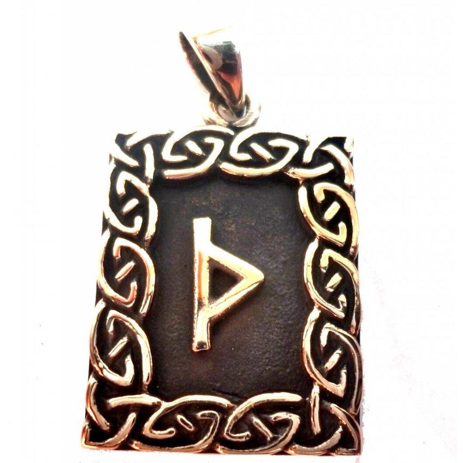 Amulett Rune, Thurisaz Anhänger-1