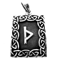 thumb-Amulett Rune, Thurisaz Anhänger-2