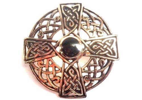 Bronze Brosche Keltisch