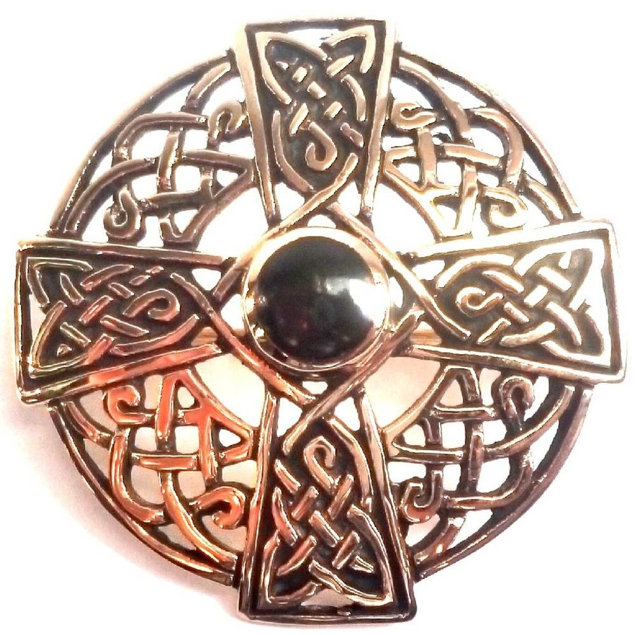 Keltische Brosche aus Bronze-2