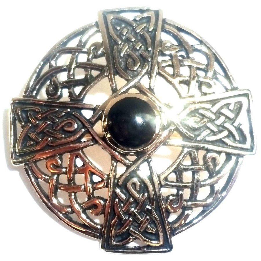 Keltische Brosche aus Bronze-1