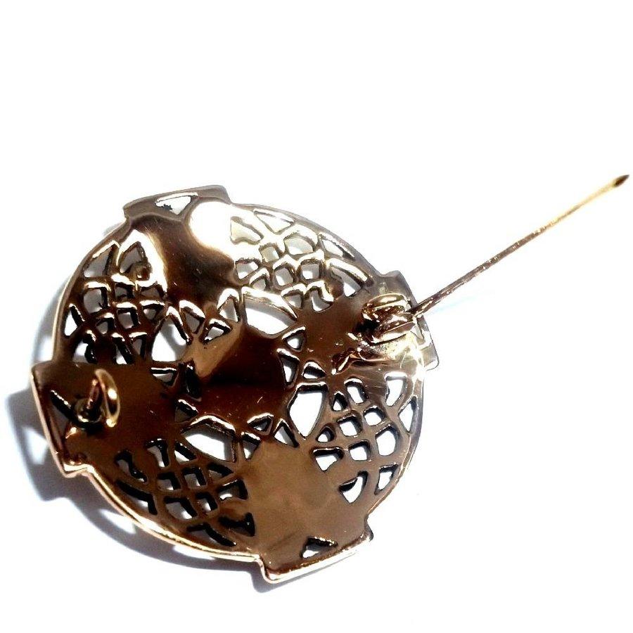 Keltische Brosche aus Bronze-3