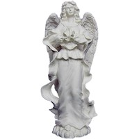 thumb-betender Engel aus Alabasterguss, stehend-1