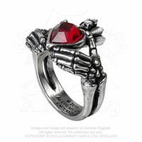 thumb-Schön gearbeiteter Claddagh Ring aus feinem englischen Zinn-1
