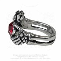thumb-Schön gearbeiteter Claddagh Ring aus feinem englischen Zinn-4