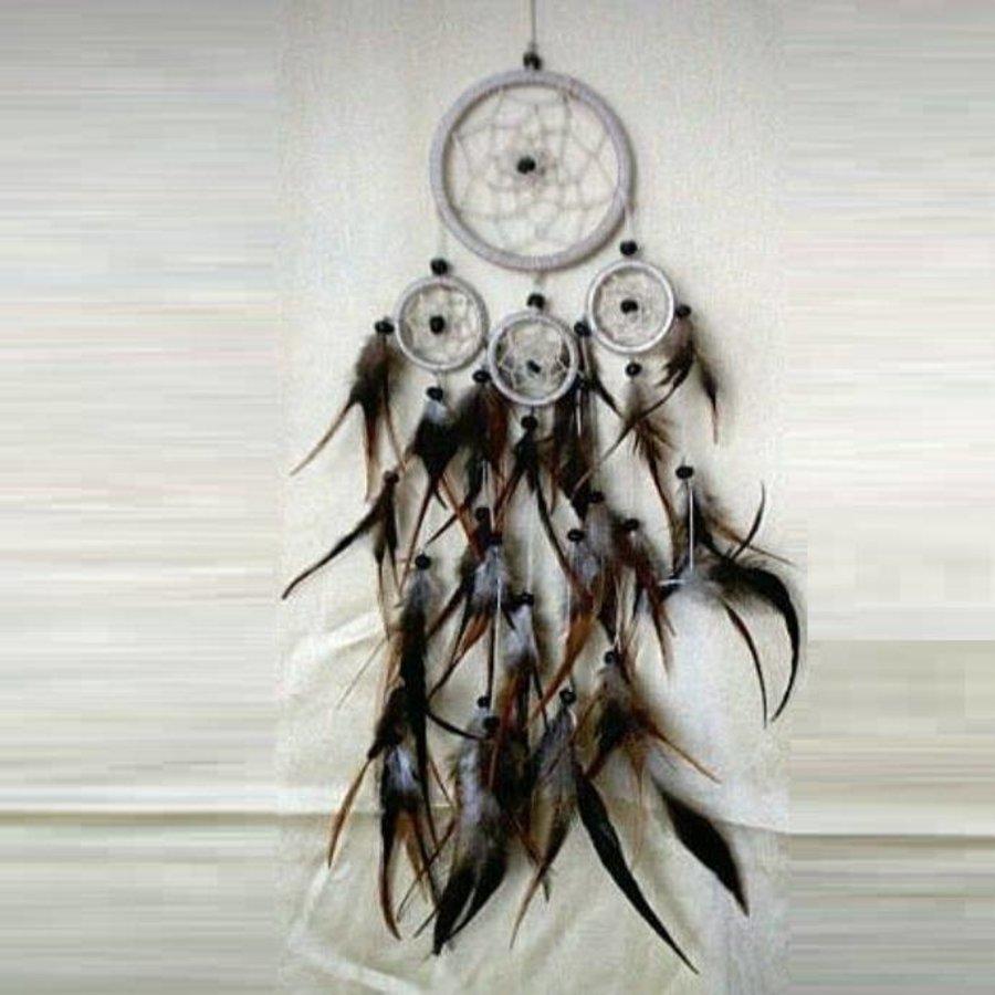Traumfänger (Dreamcatcher) klein vierfach-3
