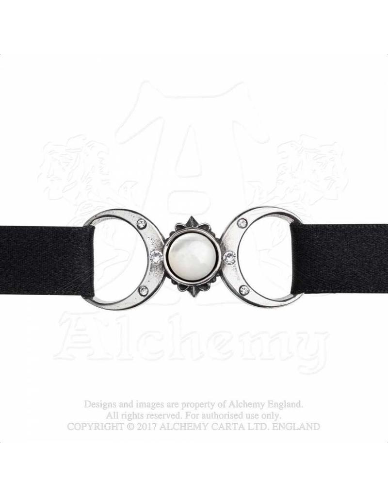 Alchemy Triple Goddess Choker, Zinn