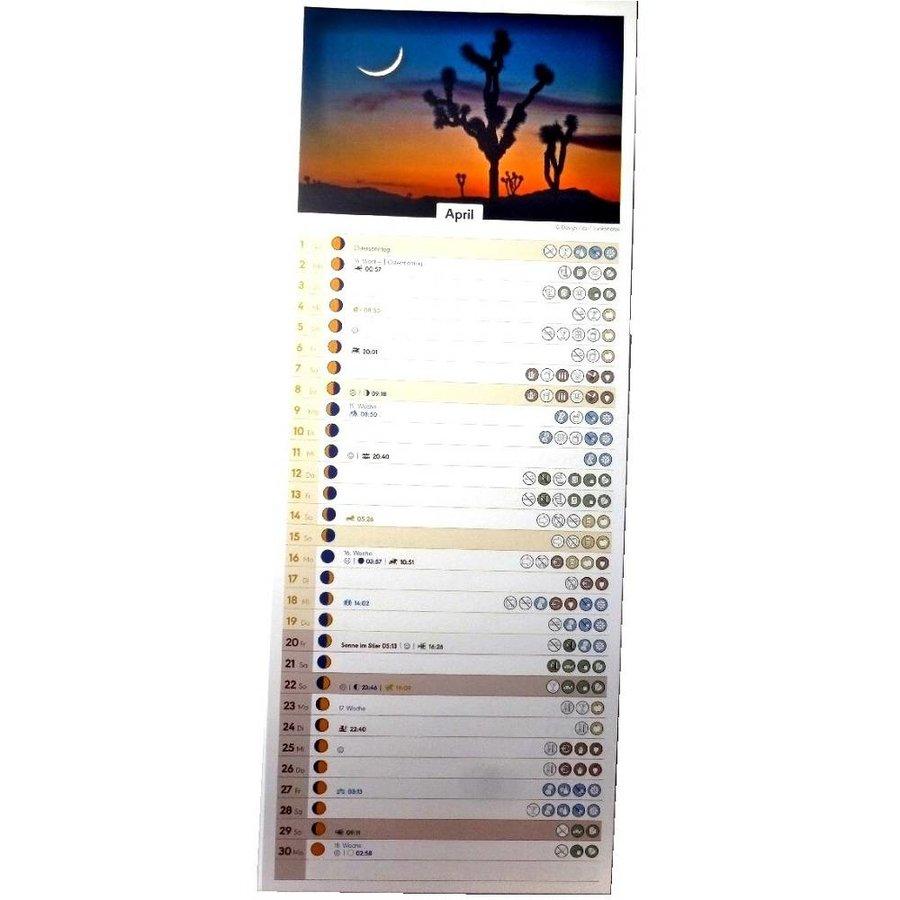 Mondkalender 2021-2
