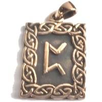 thumb-Amulett Rune, Pertho-1