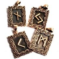 thumb-Amulett Rune, Eihwaz-2