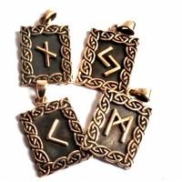 thumb-Amulett Rune, Hagalaz-2