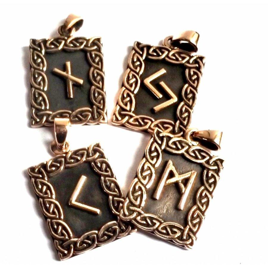 Amulett Rune, Wunjo-3