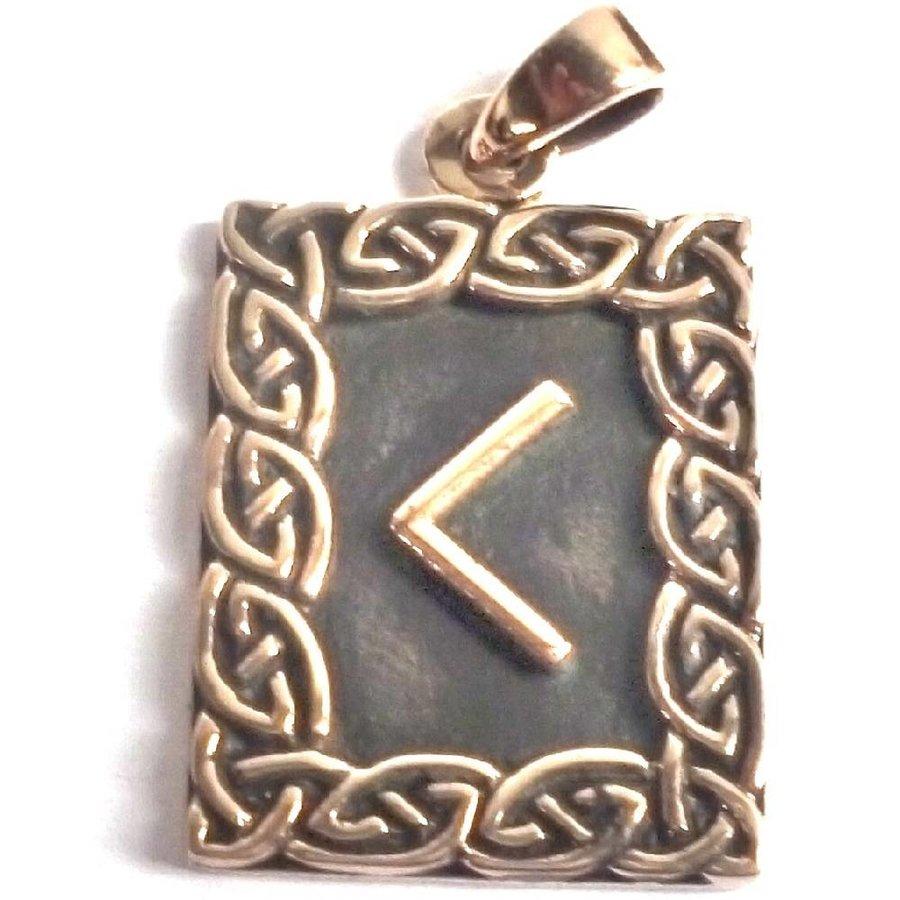 Amulett Rune Kenaz-1