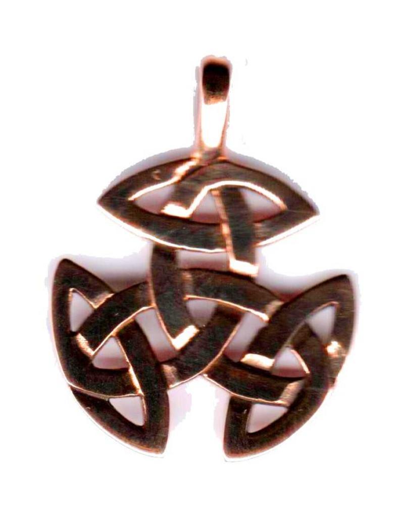 Keltisch Anhänger mit Kette aus Zinn, ohne Kette aus Sterling Silber
