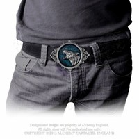 "thumb-""Wulven""  Belt Buckle-1"