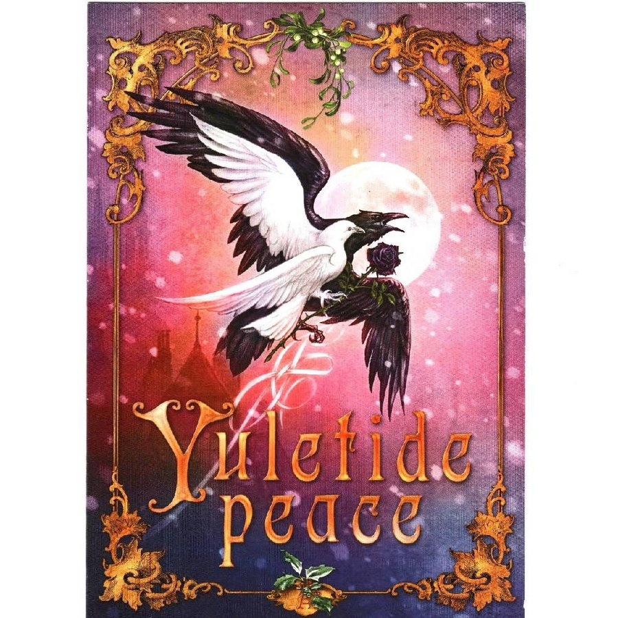 Yuletide peace, Grußkarte-2