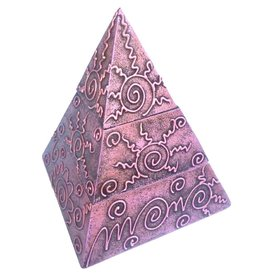 Schmuckkästchen Pyramide mit 2 Fächern