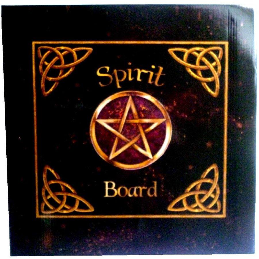 Witchboard klein mit Pentagramm und Triquetta-3