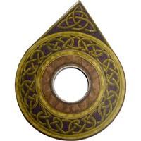 thumb-Witchboard klein mit Pentagramm und Triquetta-4