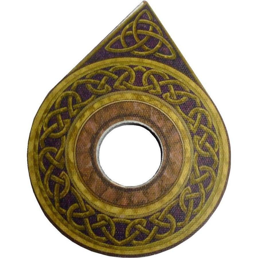 Witchboard klein mit Pentagramm und Triquetta-4