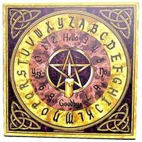 thumb-Witchboard klein mit Pentagramm und Triquetta-1