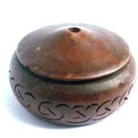 thumb-Federhalter Celtic aus Holz-1