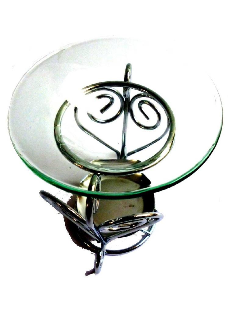 Duftlampe Herz Metall