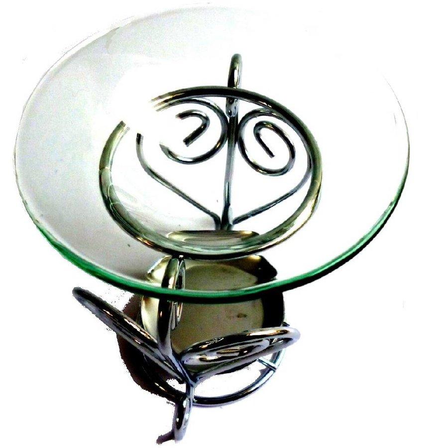 Duftlampe Herz Metall-1