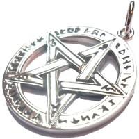 thumb-Pentagramm Anhänger, Sterling Silber, ca. 28 mm-2
