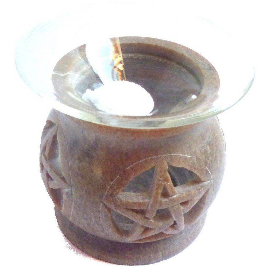Duftlampe Pentagramm eckig oder rund-5