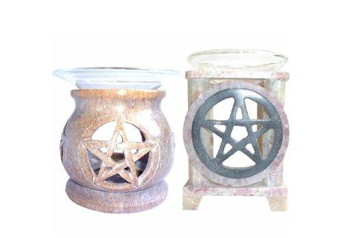 Duftlampe mit Pentagramm